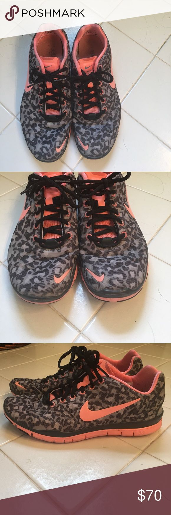Rare Nike Leopard Free 5.0 Nike leopard print 5.0, perfect for the gym or casual day! Nike Shoes Sneakers