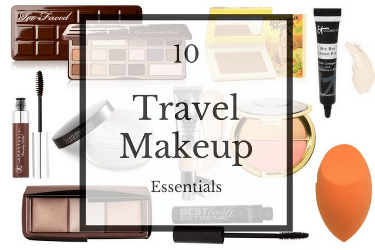 10 Travel Makeup Essentials
