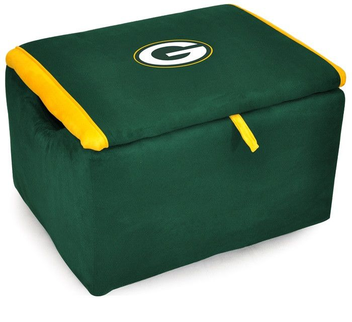 [[start Tab]] Description The Officially Licensed Green Bay Packers NFL  Storage Bench Is Great For Storage Of All Kinds And Provides Extra Seating.