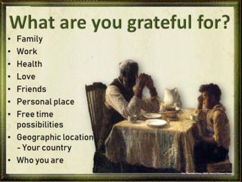 Thanksgiving adult esl