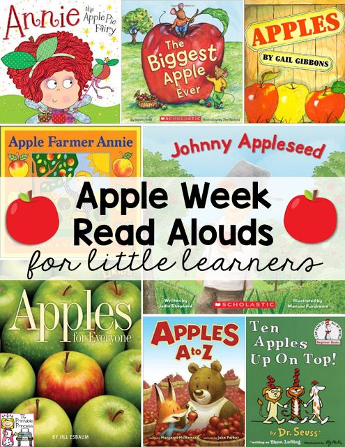 Great list of apple suggestions! Plus so many other ideas for an EASY but fun apple week!