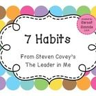 """7+Habits+{The+Leader+in+Me}  Posters+for+the+7+Habits+of+Highly+Effective+People,+as+seen+in+Steven+Covey's+""""The+Leader+in+Me""""+(using+the+7+Habits+..."""