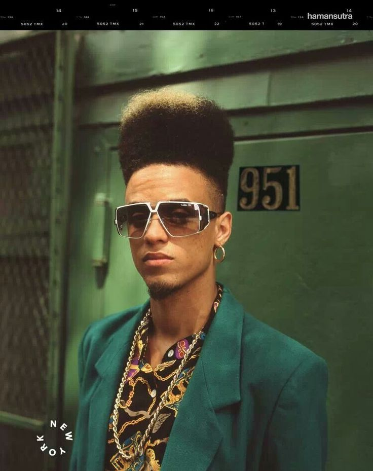 Cazal And A High Top Fade The Coolest People In The