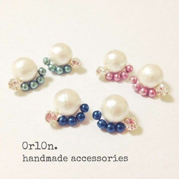 【冬限定!】Cotton pearl bijou pierce