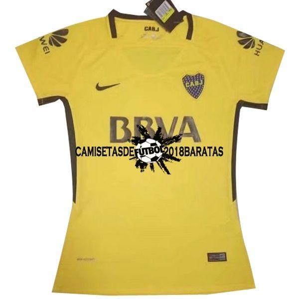 e9f654b22a7e6 Segunda Camiseta Mujer Boca Juniors 2017 2018