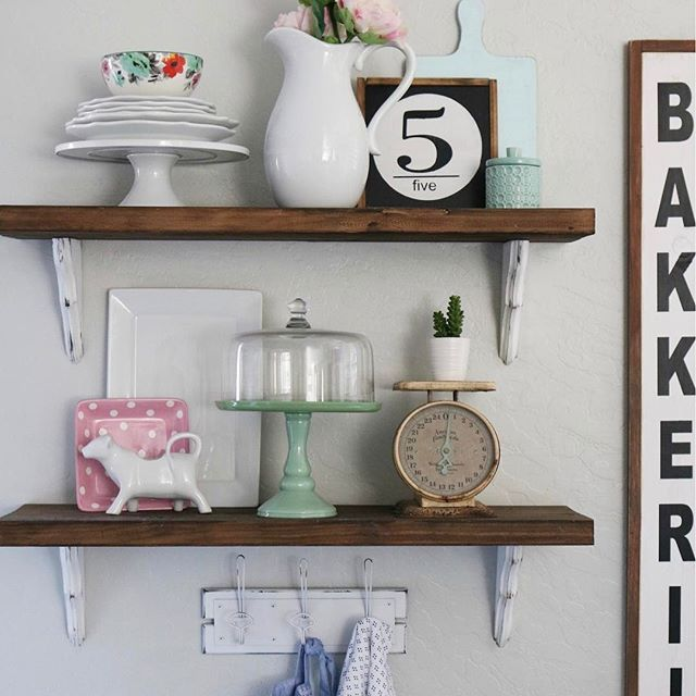 45 Best Images About Hooks + Shelves On Pinterest