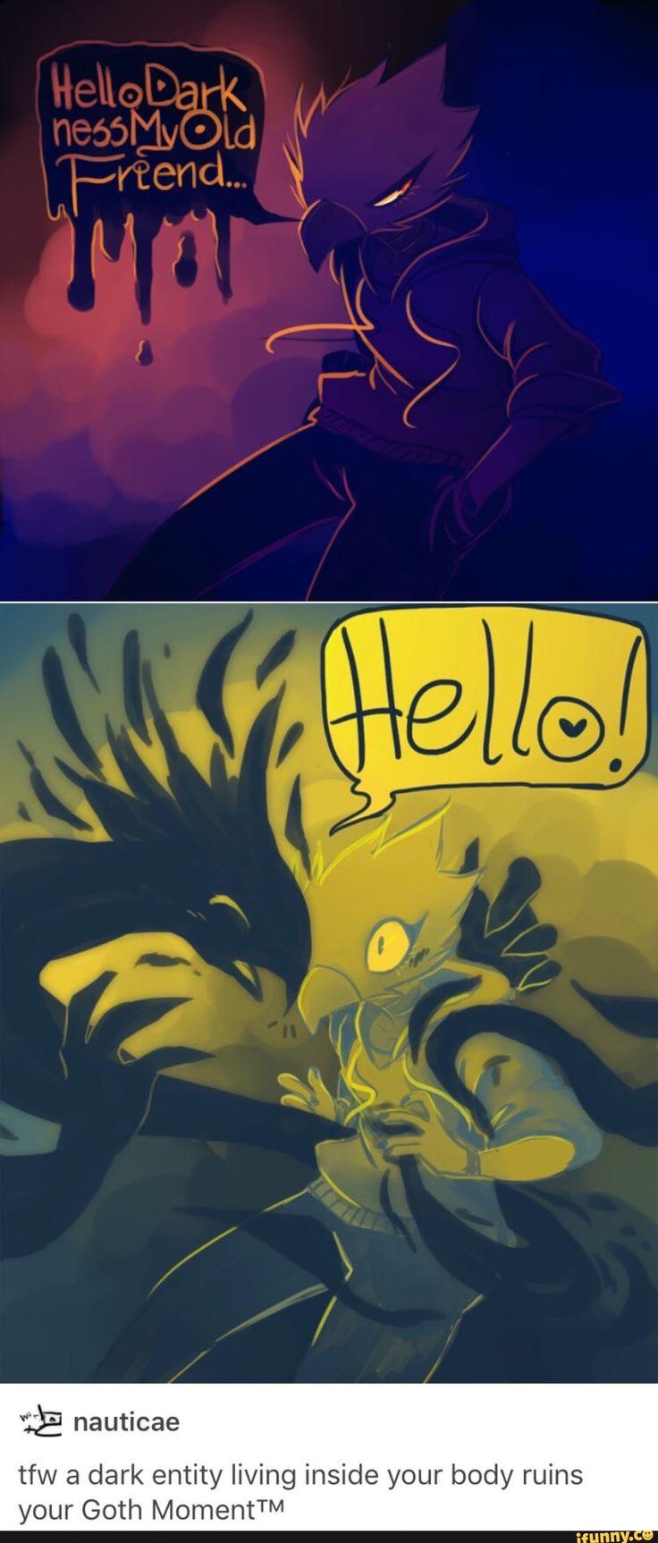 Hello Darkness my old friend! Boku no Hero Academia