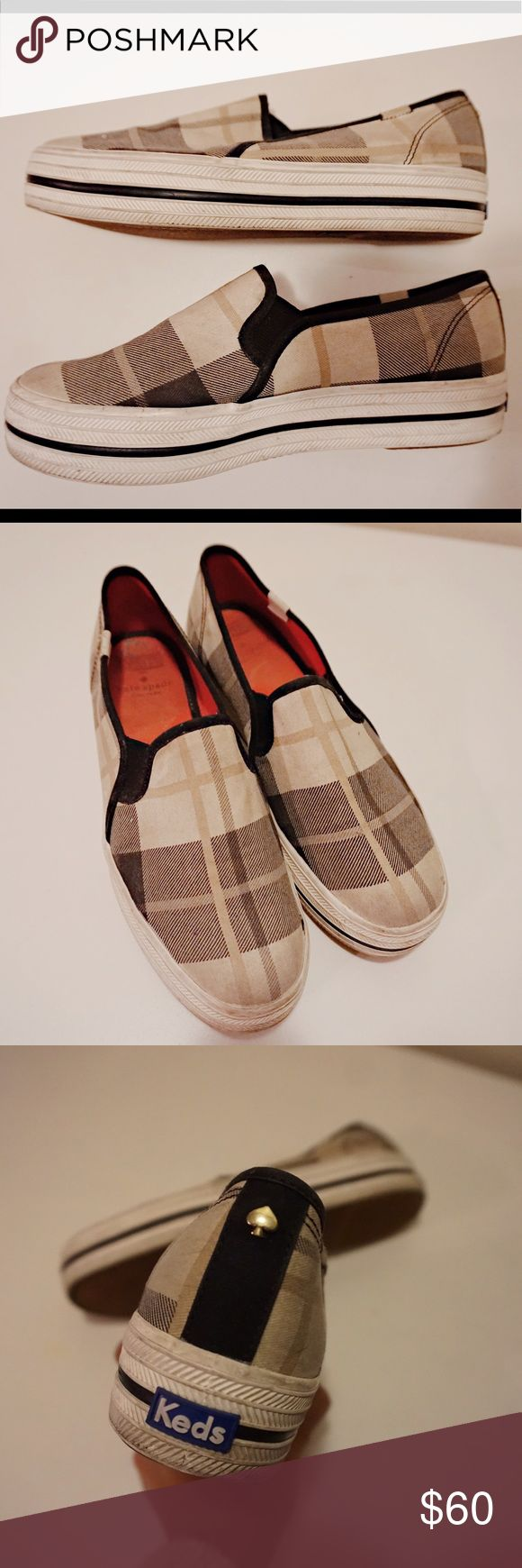 Kate Spade Keds Sneakers Kate Spade ♠️ keds sneakers. Need to be cleaned! kate spade Shoes Sneakers