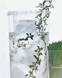 Vodka-Thyme Lemonade, Perry St. • New York City: Lemonade Recipes, Thyme Recipes
