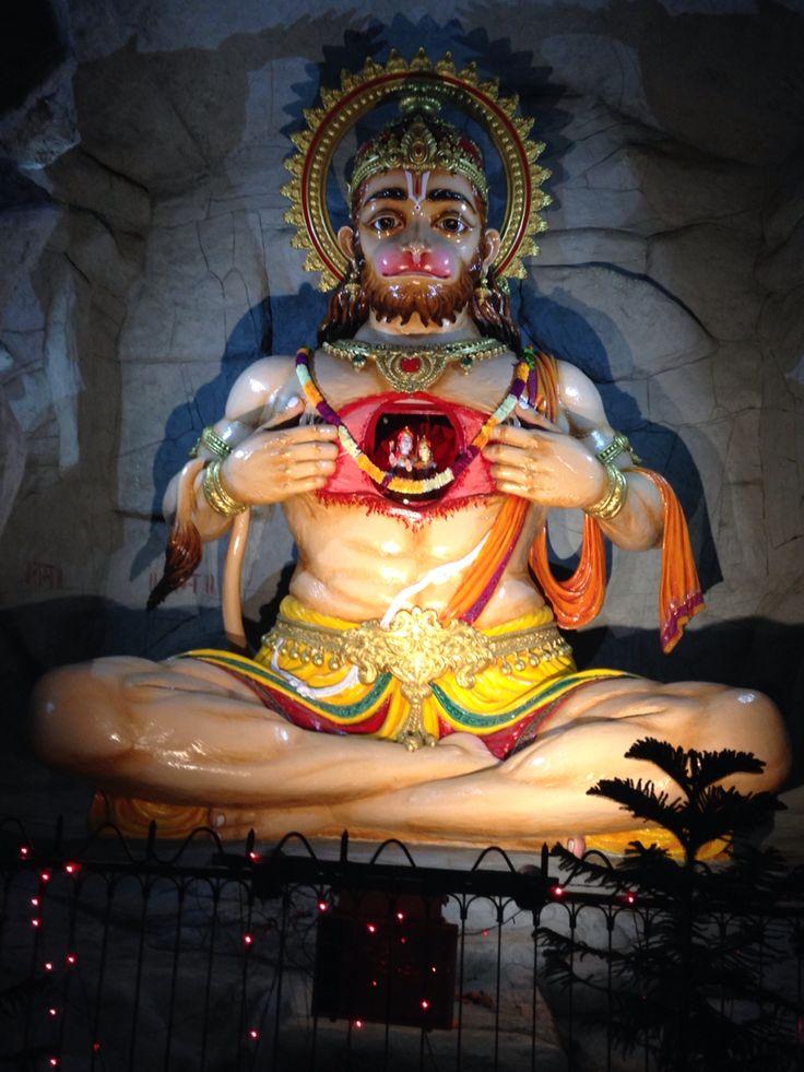 Hanuman. Rishikesh