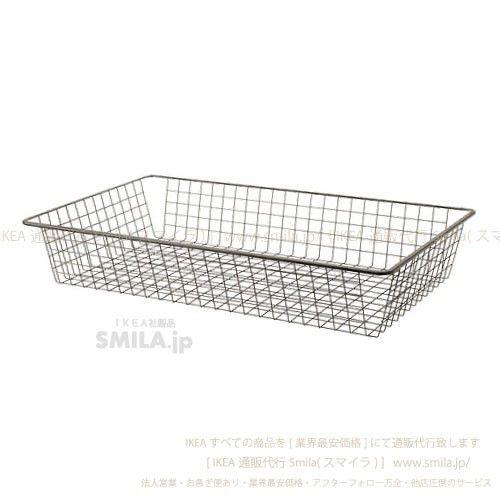 日欧インテリア&キッチン - IKEA イケア KOMPLEMENT ワイヤーバスケット 引き出しレール付き, ダークグレー [100x58 cm]|Yahoo!ショッピング