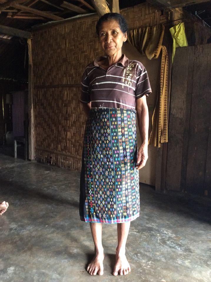 Ikat Sarong from Todo Village, Manggarai, Flores. Look at its beautiful motif. Available to order.