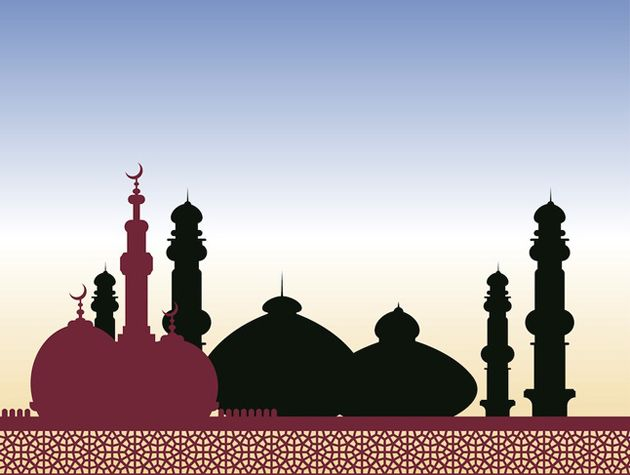 Islamic Mosque Vector
