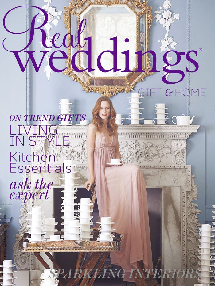 Real Weddings - Issue 23; gift and home flip