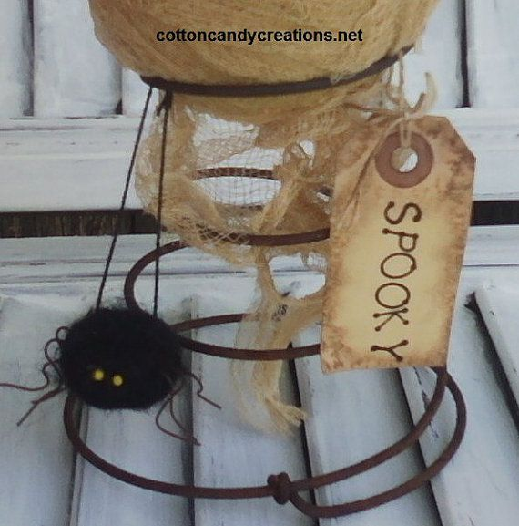 Mummy Nodder Primitive Fall Decor Primitive by CCCPrimitives