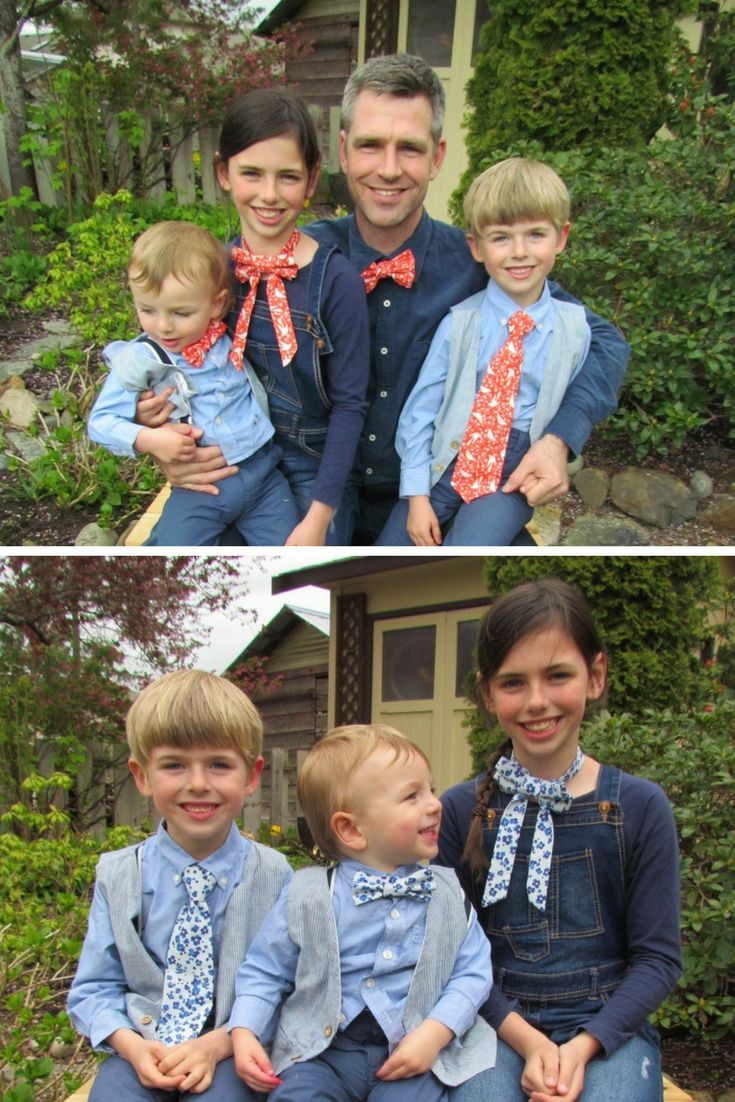 Matching Family Tie Combinations. Father and Son. Father and Daughter. Siblings. Mother and Daughter. Please use coupon PIN10 for 10% off your order..