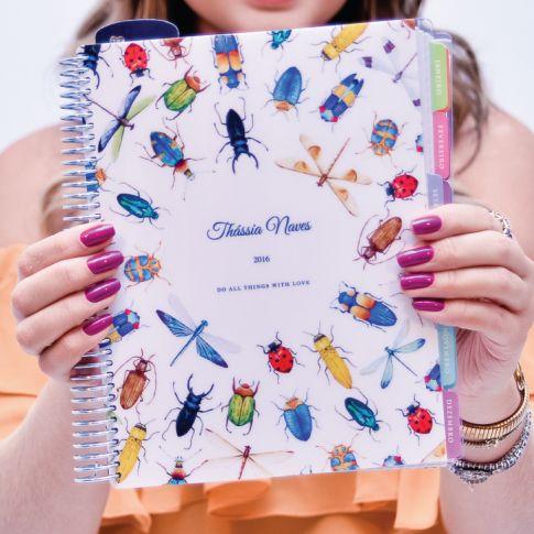 *Planejador de Vida Insects Circle - Planner