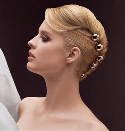 Standard ballroom hair inspiration --french twist hairstyle