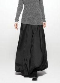 Зимняя юбка в пол 9