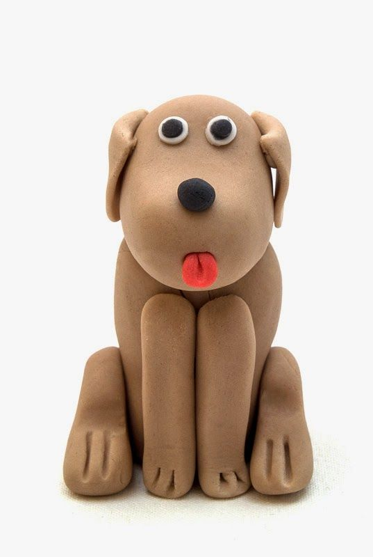 How To Make Dog Fondant Figurine By Easy-Receptiblogspot -7108
