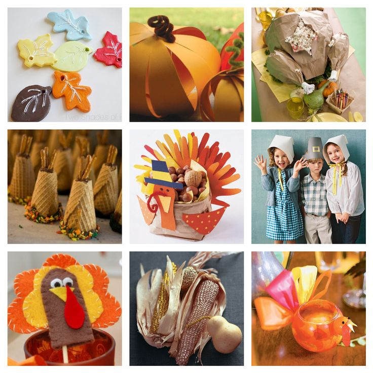 25 Thanksgiving crafts to do with kids