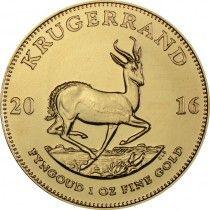 Empfohlenes Produkt : Krugerrand 1 Unze Gold 2016 | goldankauf-haeger.de