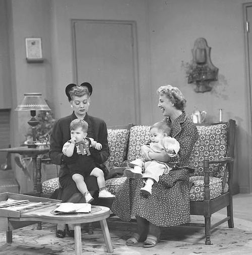 """I love this I Love Lucy episode with Carolyn. """"I just love chubby, puffy little boys."""" :D"""