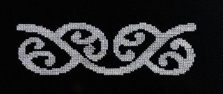 New Zealand Maori Koru 2 Cross Stitch Pattern PDF Instant