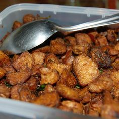 Soya Chunks Masala Dry Recipe. Soya chunks cooked in chilly and spices. Itz a healthy and tasty side-dish. It goes well with rice and Indian breads. It makes...