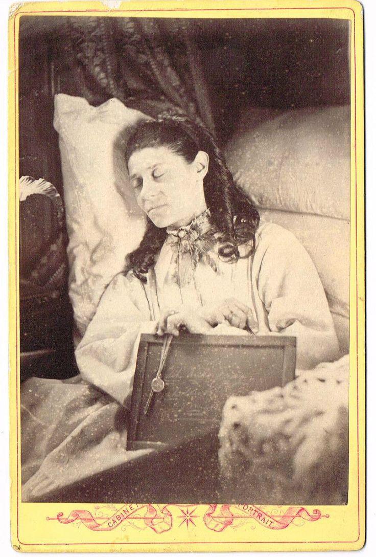 REBECCA HAYMAN ON DEATH BED AGED 38 SWINDON 1879