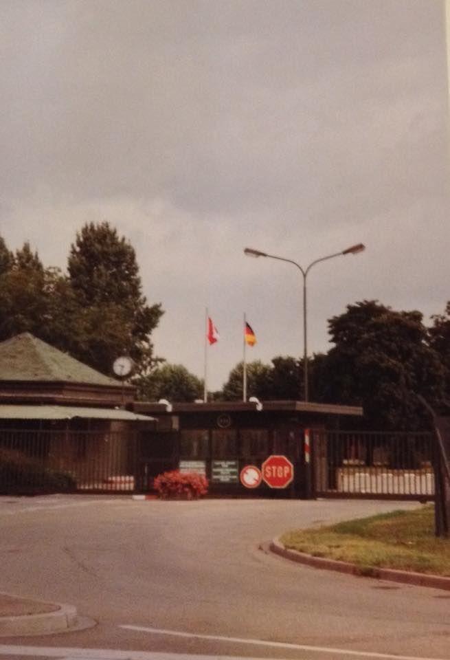 CFB Lahr Main Gate