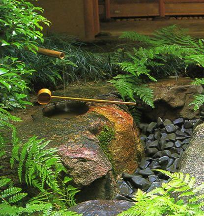 Chaniwa Japanese Garden the Tsukubai