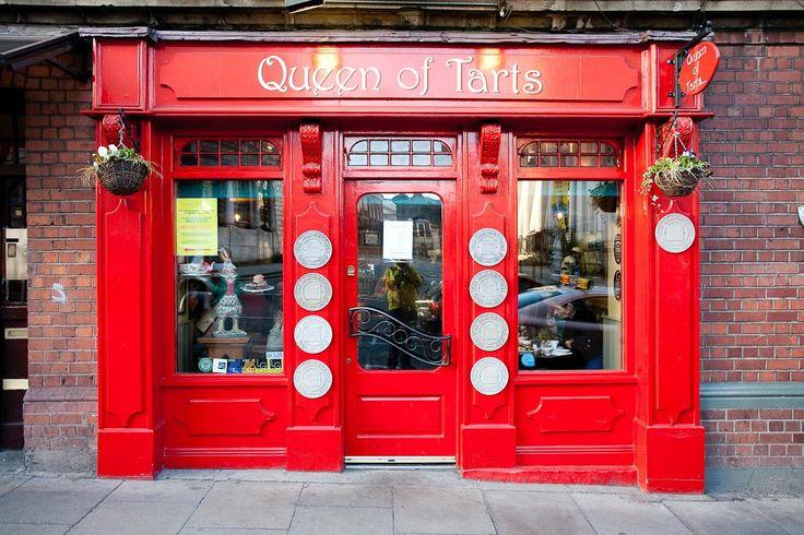 Dublin'de Kahve Dükkanları