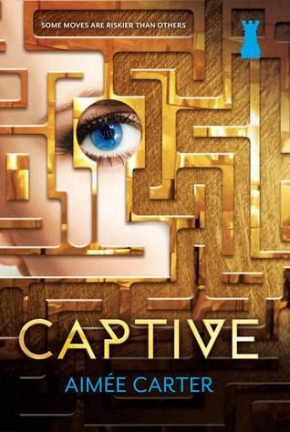 Captive by Aimee Carter. This is the sequel to Pawn, book two in The Blackcoat Rebellion series. While I liked the first book better, this is still a good read! | Alexia's Books and Such  #BookReview