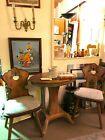 VOGLAUER ANNO 1900 kleine Sitzgruppe 2 Stühle ein Tisch Landhaus Österreich An …   – Antiquitäten & Kunst