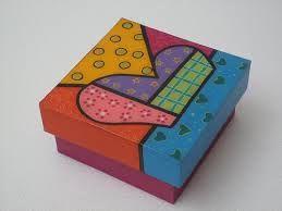 caja pintada - Buscar con Google