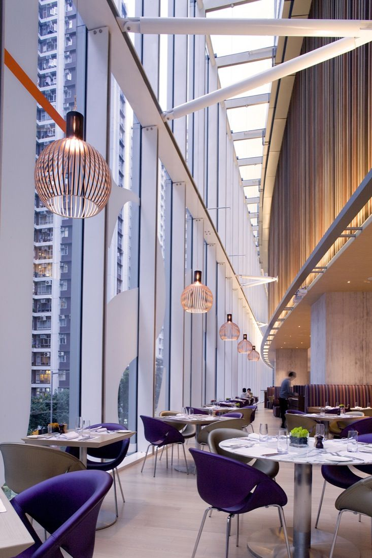 Business hotel in hong kong east hotel - Our Black Octo 4240 Pendants Are Boasting In The Business Hotel East Located In Hong Kong Design By Architects Photo By Nirut Benjabanpo