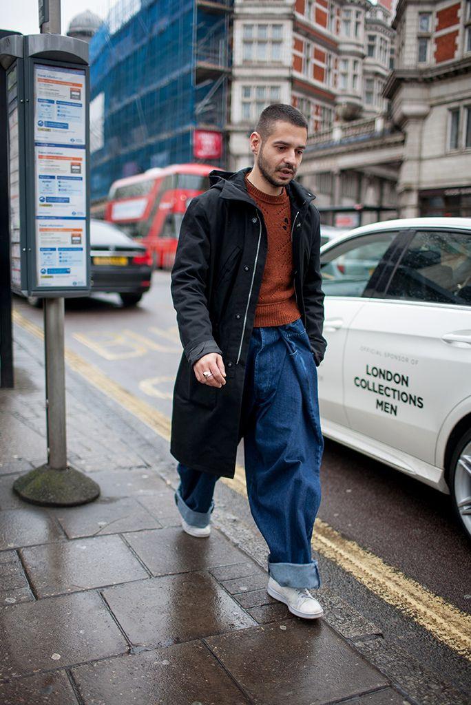 【スナップ】2016-17年秋冬ロンドン・メンズ・ファッション・ウイーク ストリートスナップ 72 / 140