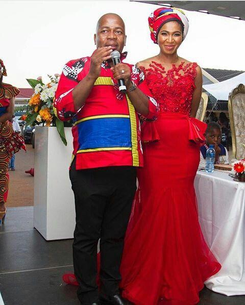 Seswati traditional wedding
