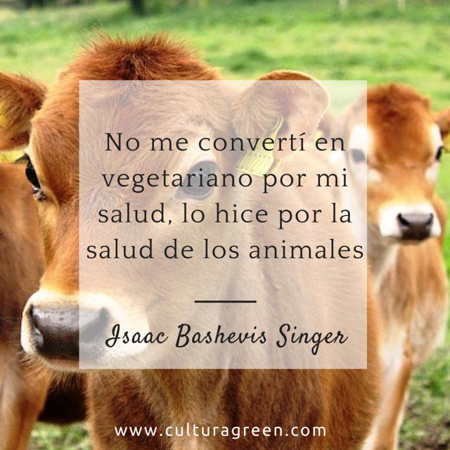 ¿Y tu, porqué comes carne? #CulturaGreen