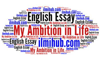my ambition in life essay