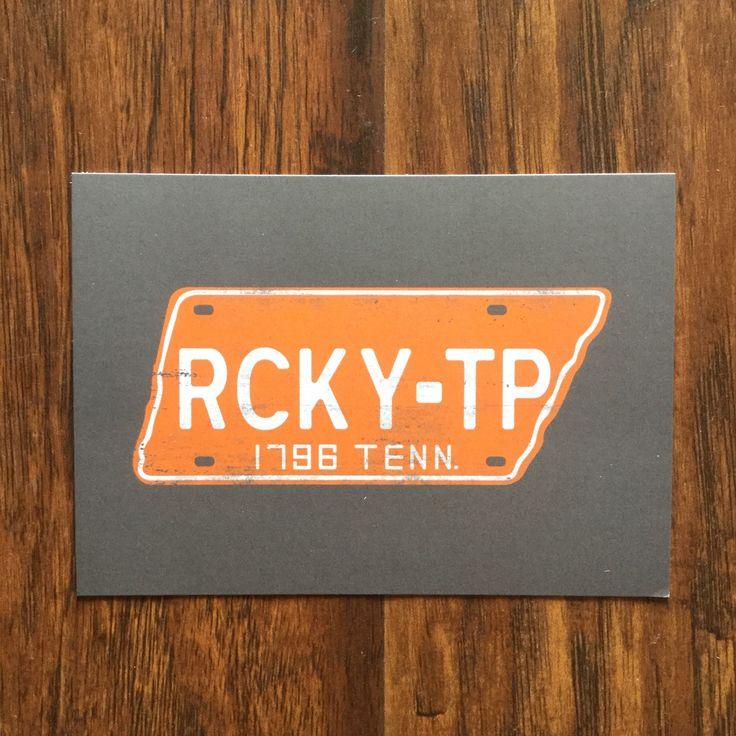 RCKY-TP Postcard