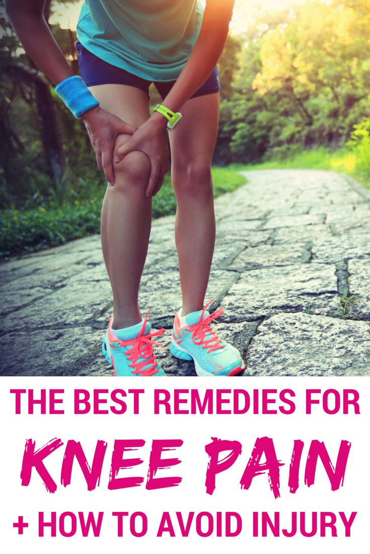 What athlete HASN'T experienced sore knees after a workout? Banish knee pain once and for all with these at-home remedies—trust us, your joints will thank you! // spryliving.com