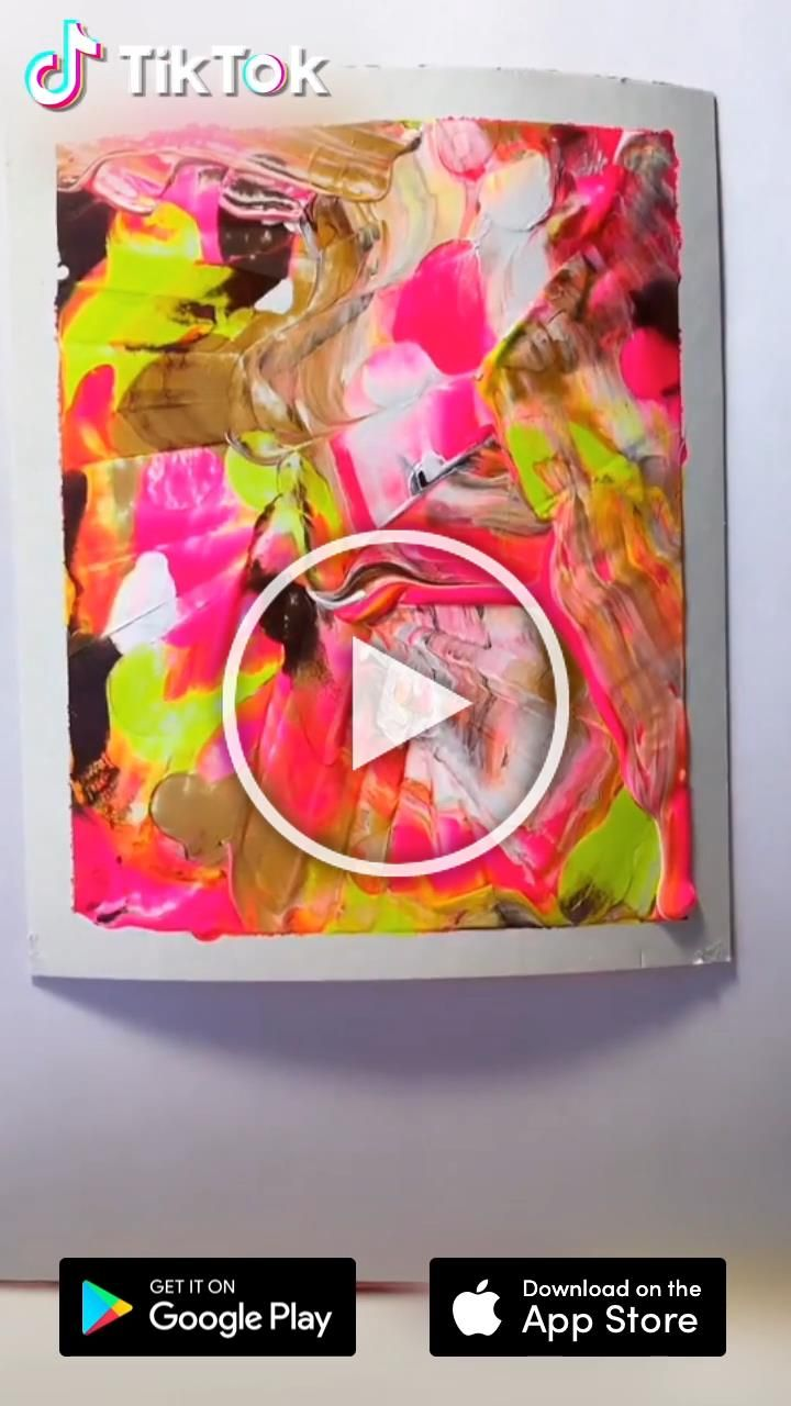 Easy art painting tutorial download tiktok to find more