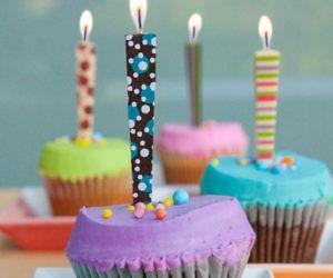 Edible Chocolate Birthday Candles