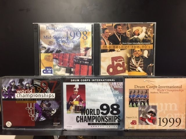 Drum Corps International Finals CDs of the 90s