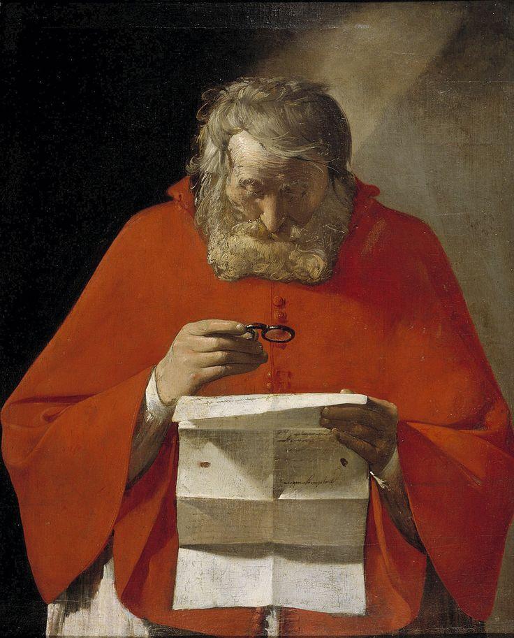 Georges de La Tour  ( Saint Jerôme lisant )  ( Vic sur Seille 1593 - Lunéville 1652 )  59