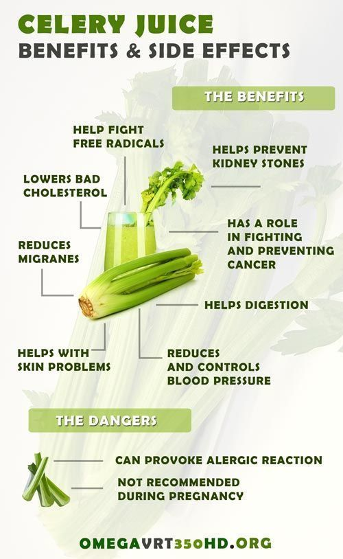 Simple 3-Ingredient Celery Juice To Detox Your Kidneys
