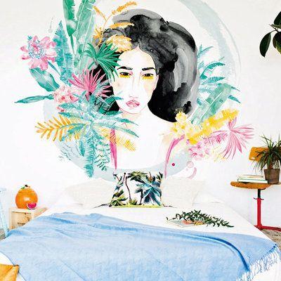 dormitorio hawaiano