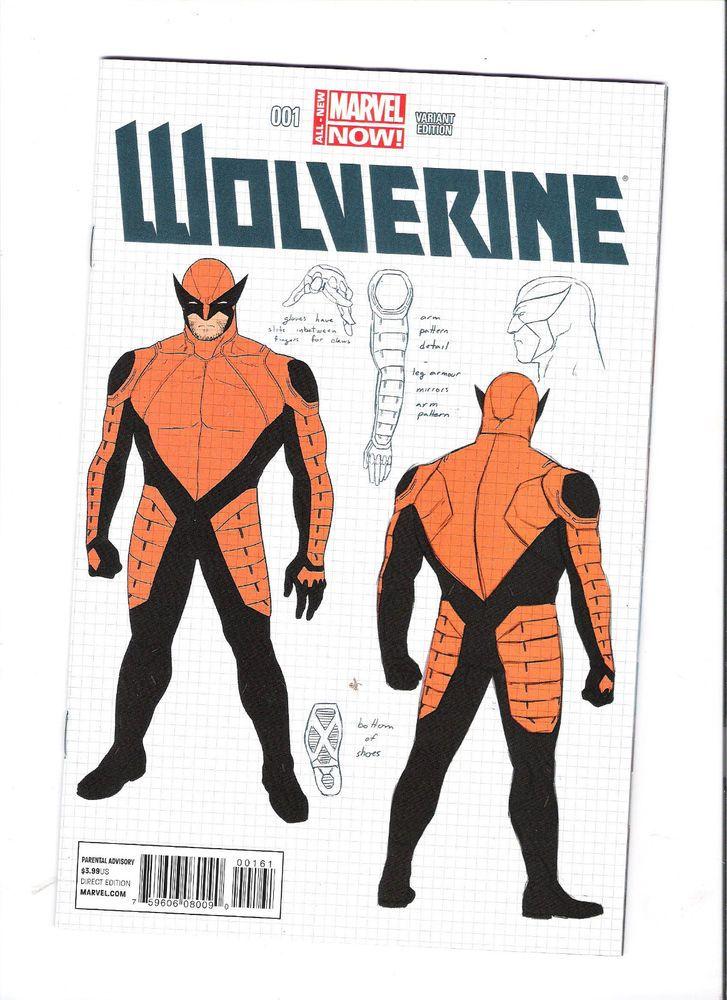 WOLVERINE #1 Cool costume design variant! NM http://r.ebay.com/j7a8qG